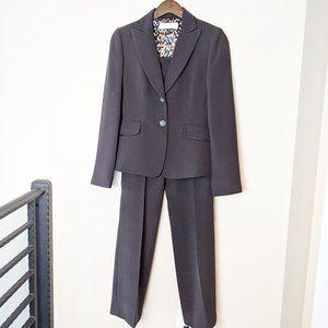 Tahari Aruthur S. Levine Brown Pant Suit Women 2